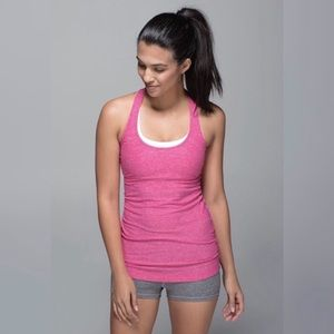 Lululemon Cool Racerback Tank in Pink